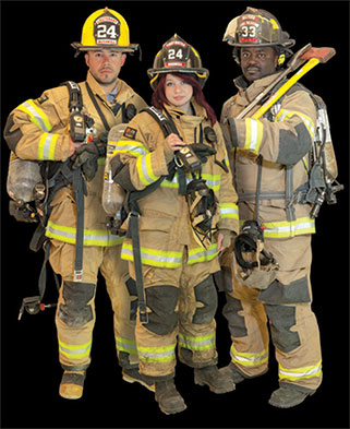 Pike County Volunteer Responder Trio